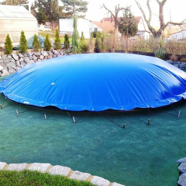 Зимний тент для бассейна круглый Зиматент 3,9 метра из ПВХ купить с доставкой по РБ
